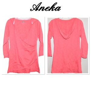Aneka New Balance Fitness Hooded Top Size (L)